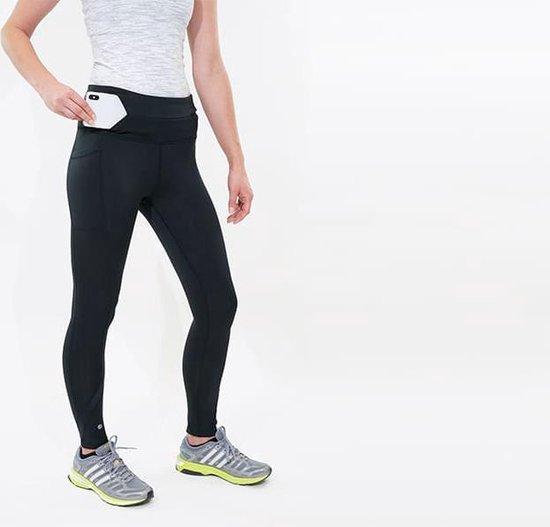 FlipBelt legging - met zijvak voor mobiel of drinkfles