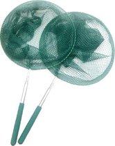 Telescopische Schepnet Visnet Speelgoed Vlinder Insecten Vissen Fish Vis – Donker Groen Vijver Zwembad Kind Kinderen Kong - Dutchwide®