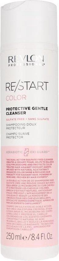 REVLON Restart - Color - Sulfaatvrije Shampoo (voor gekleurd haar) - Protective Gentle Cleanser (250ml)