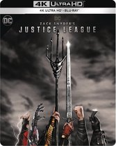 Zack Snyder's Justice League (Steelbook) (4K Ultra HD Blu-ray)
