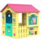 Speelgoedhuis voor Kinderen Peppa Pig | 84 x 103 x 104 cm | Speelhuis | Speelhuis buiten | Speelhuisje