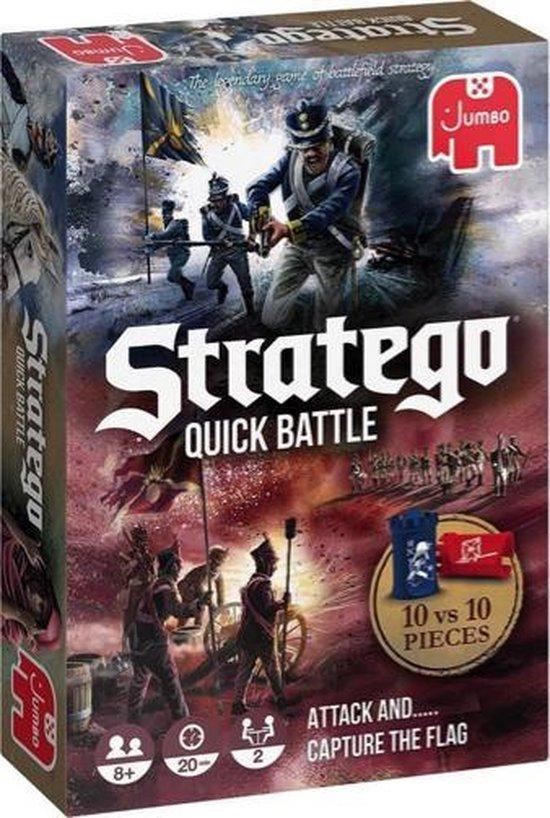 Afbeelding van het spel Stratego Quick Battle - twee snelle spelvarianten
