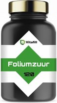 Foliumzuur Vegan - 120 Tabletten voor 4 maanden - Goede aanvulling voor en tijdens de zwangerschap