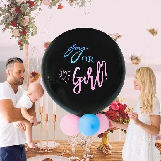 Gender Reveal Ballon- confetti ballon gender reveal- boy or girl ballon- geslachtsonthulling ballon