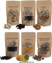 BOTANICA Gin-botanicals Ginkruiden 6 soorten (mix 1) in paper-bag (175g)