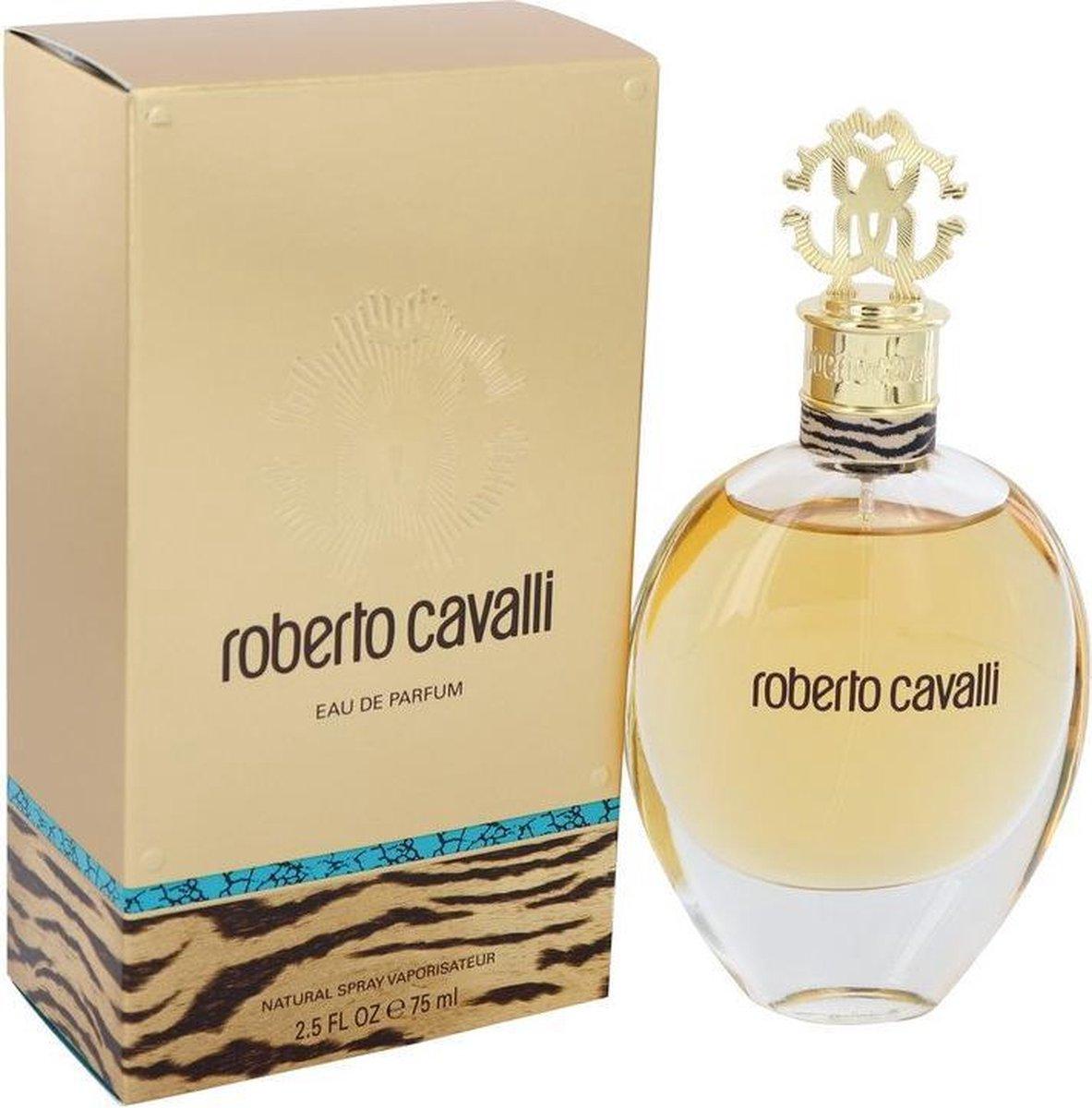 Roberto Cavalli 75 ml - Eau de Parfum - Damesparfum op De Prijzenvolger