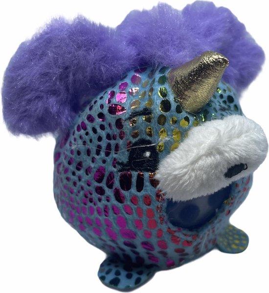 Afbeelding van het spel Stressbal Orbeez - Stressbal kinderen - Stressbal knuffelbeer paars