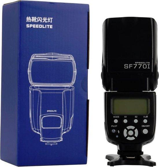 SLFC SF770I flitser speedlite voor Canon Nikon Olympus Pentax Fuji Sony