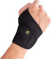 Bracoo WS10 Polsbandage Polsbrace - verstelbare neopreen band - wrist support - zwart
