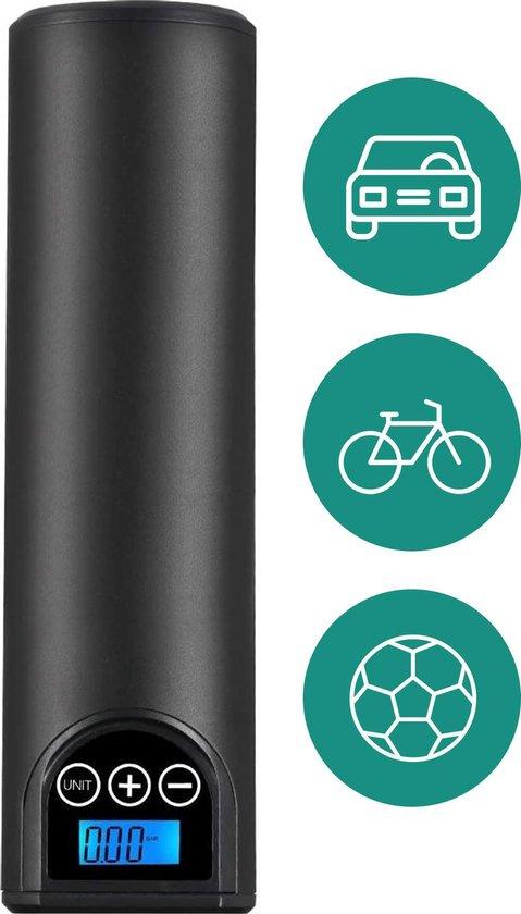 Nanostorm Elektrische fietspomp incl. 4 opzetstukken - Luchtcompressor
