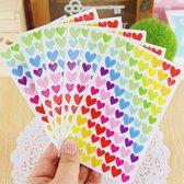 Hartjes Stickervellen / Dagboekstickers / Plasstickers / Beloningsstickers / Kinderstickers / Kind / Feestje / Verjaardag / Meisje / Jongen