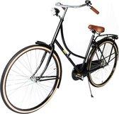 123 Fiets Complete oma fiets Inclusief slot, luxe lederboom handvaten en verlichting!