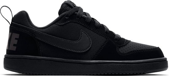Nike Court Borough Low Bg Jongens Sneakers BlackBlack Black Maat 38.5