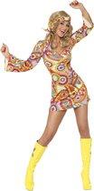 SMIFFYS - Hippie pak voor dames - M - Volwassenen kostuums
