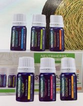 Neutriherbs® 6 Etherische Oliën - Aromatherapie - Aroma Olie Cadeau Set - Essentiele olie