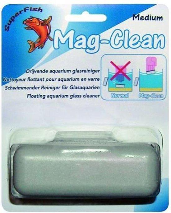 SuperFish Mag Clean - Aquarium - Glasreiniger - Drijvend - Mini