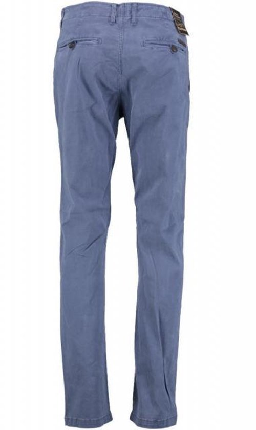 Petrol Stone Blue Tapered Fit Chino