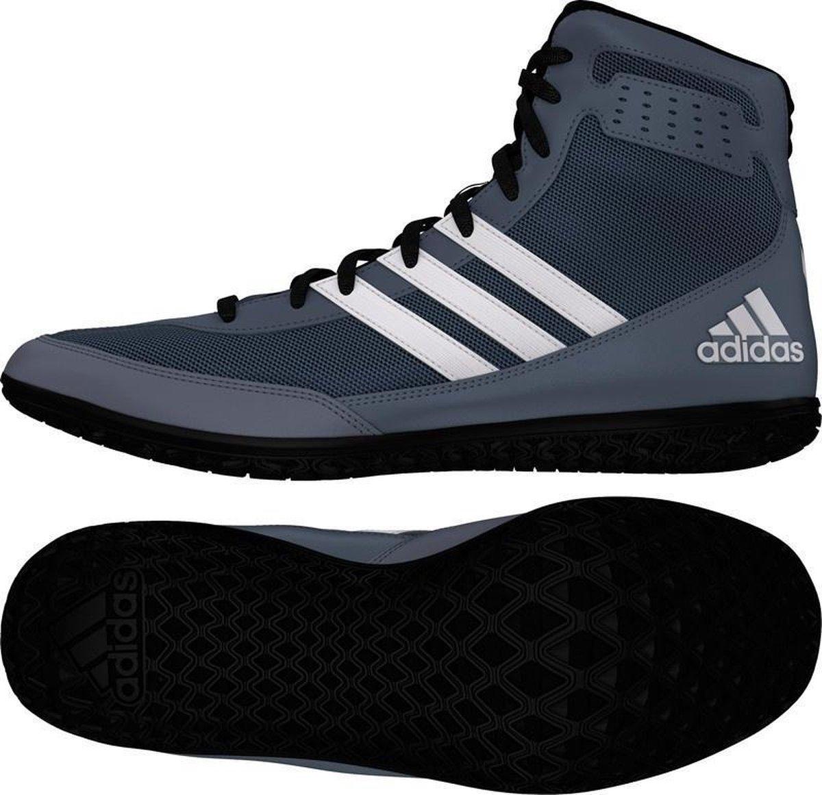 adidas Mat Wizard 3 Boksschoenen Worstelschoenen AQ5647 grijs maat: 42 EU