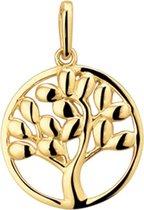 Sparkle14 Levensboom Hanger Goud