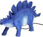 House of Disaster nachtlamp blue stegosaurus Blauw