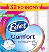 Edet Comfort - 3-laags wc papier - 32 rollen