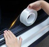 Instaplijsten Auto - Autodeur sticker - Autolijst Beschermer - Kofferbak bescherming - Autodeur instaplijst - Beschermfolie - Universeel - Doorzichtig - 3M