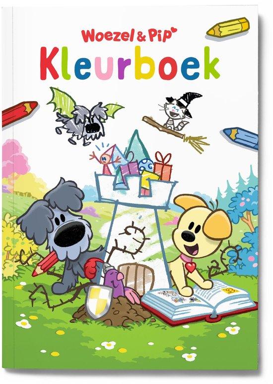 Boek cover Woezel & Pip - Kleurboek Woezel & Pip van Guusje Nederhorst (Paperback)