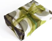 Revived - herbruikbare cadeauverpakking van textiel - retro - duurzame kadoverpakking - het alternatief voor cadeaupapier