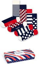 Happy Socks Stripe Giftbox - Maat 36-40