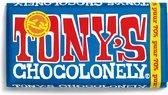 Tony's Chocolonely Puur Chocolade Reep - 180 gram