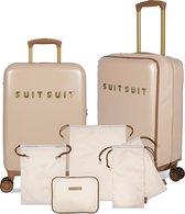 SUITSUIT Fab Seventies Reisset - 55 cm - Warm Sand