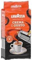 Lavazza Crema e Gusto Forte gemalen koffie 250gr