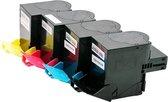 Toner cartridge / Alternatief voordeel pakket Lexmark C530/ C543 zwart, rood, geel, blauw