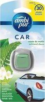 Ambi Pur Auto Clip On Luchtverfrisser - Ochtend Dauw -  6 stuks