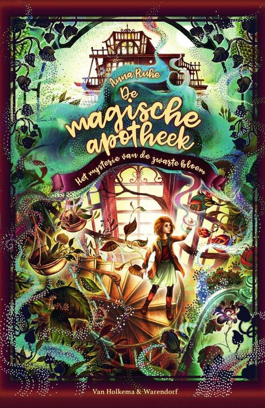 Boek cover De magische apotheek – Het mysterie van de zwarte bloem van Anna Ruhe (Onbekend)