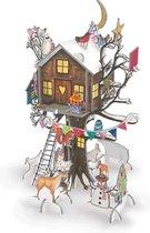 Adventskalender  & Slot Advent Calendar Xmas Treehouse, Boomhut