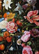 Schetsboek, De Heem, bloemstilleven