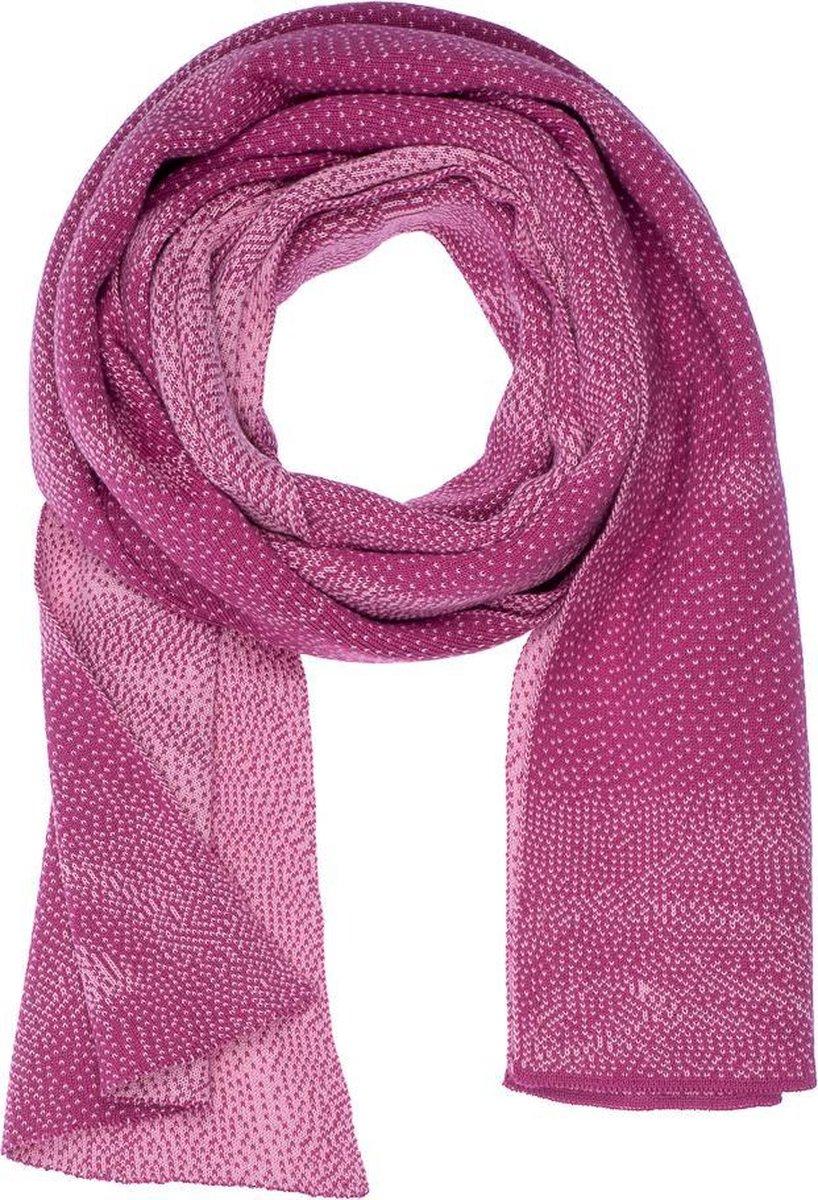 Dames sjaal roos framboos | Gemaakt in Nederland