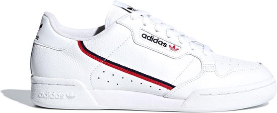 adidas Sneakers - Maat 40 - Mannen - wit/navy/rood