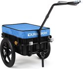 DURAMAXX Big Mike - Fietsaanhanger 70 liter -  40 kg max. draagkracht als rijwielaanhanger 60 kg max. draagkracht als handwagen.