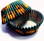 Pumpkin Pals Standaard caisses Halloween pompoen thema baking cases - Groen