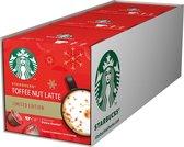 Starbucks by Dolce Gusto capsules Toffee Nut Latte - 36 koffiecups - geschikt voor 18 koppen koffie