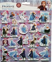 """Disney Foam Stickers """"Frozen"""" +/- 22 Stickers"""