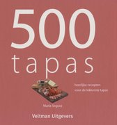 Boek cover 500 Tapas van C. Watson (Hardcover)
