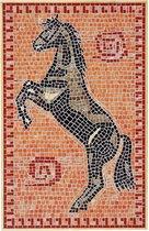 Mozaïek Paard 1- Steen