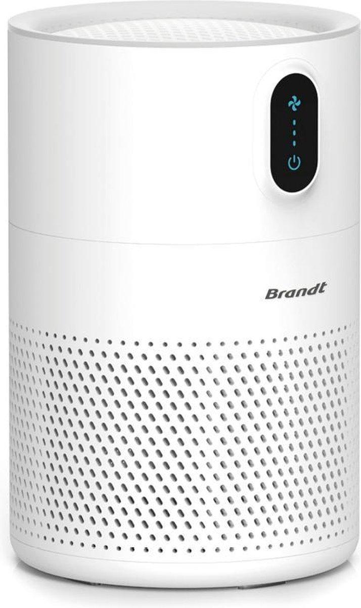 Brandt – luchtreiniger – Verwijdert tot 99,97% van de bacteriën en geuren in de lucht