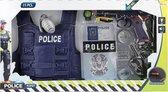 Toi-toys Speelset Politie Jongens Polykatoen 11-delig