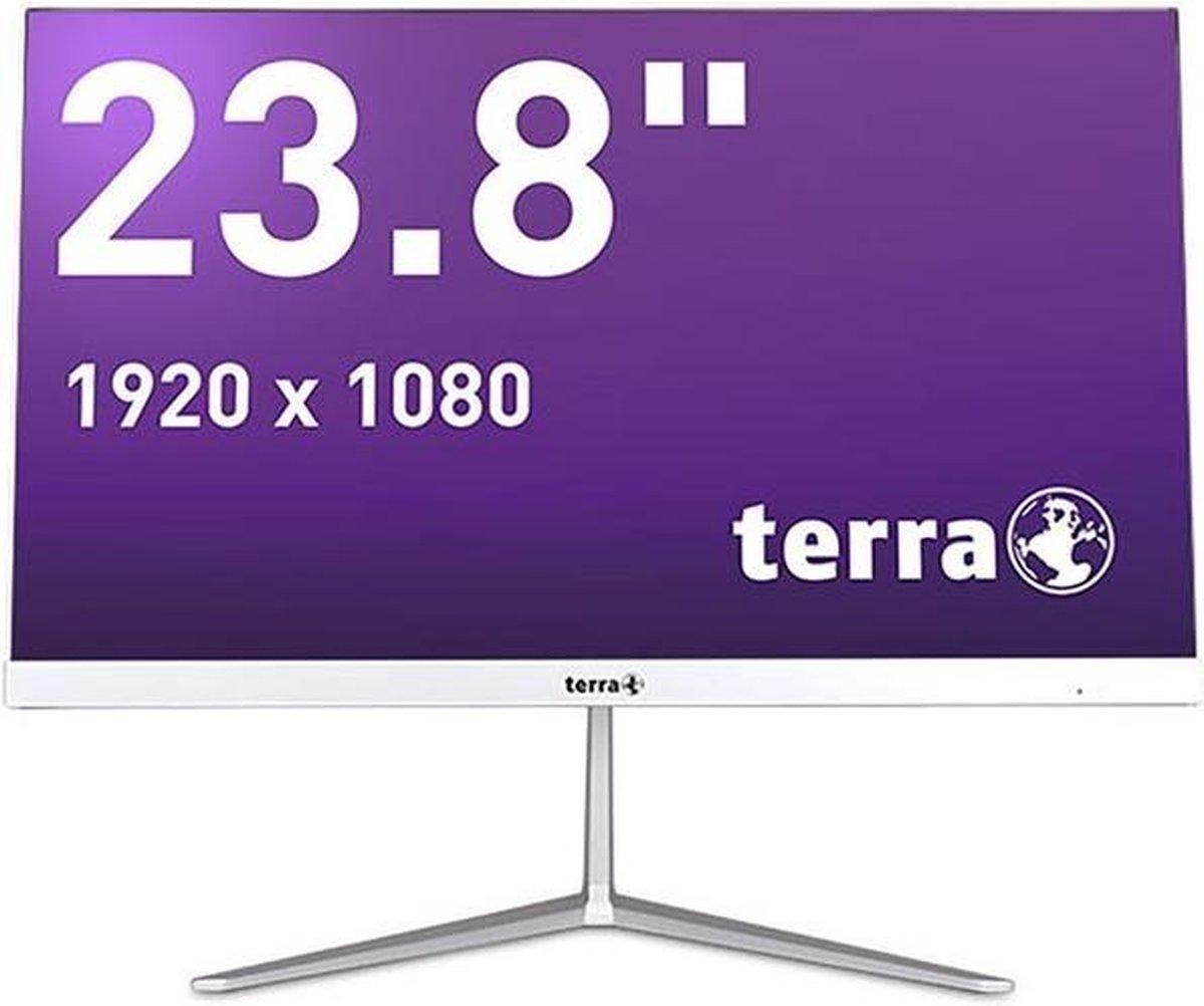 Terra All-in-One-PC 2400 Greenline 23.8 FullHD scherm, i3-10110U 2.1GHz, 8GB, 256SSD, Windows 10 Home