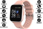 Denver SW-163 - Smartwatch - touchscreen sportwatch met hartslagmeter - Roze