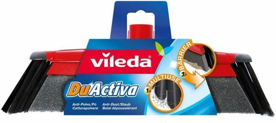 Vileda 'Duactiva' bezem zonder steel